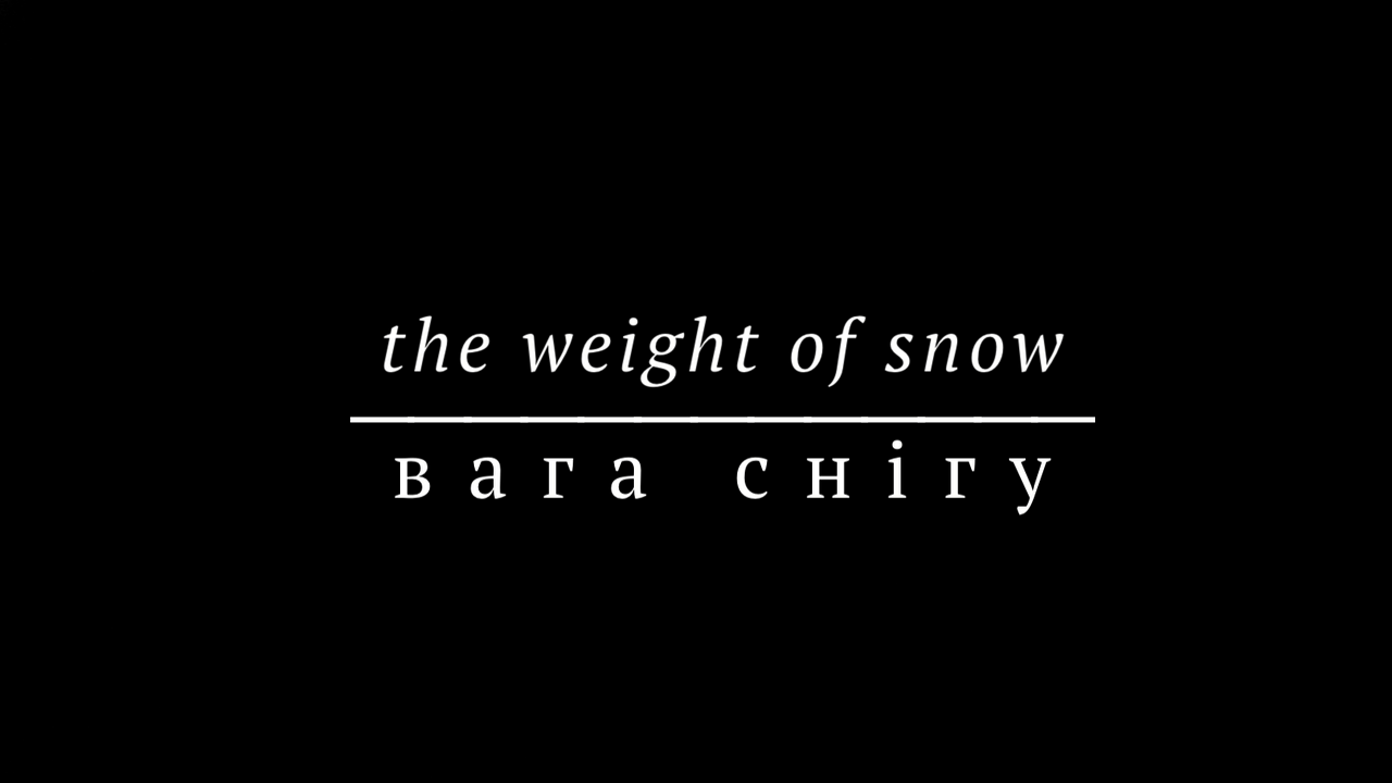 !6 - The Weight of Snow